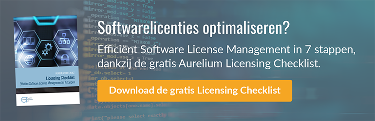 Software licensing checklist